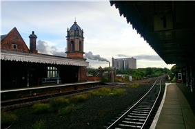 Bury St Edmunds Rail Station, 26 Sep, 2012.jpg