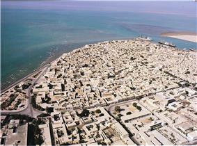 Persian Gulf Coast in Bushehr