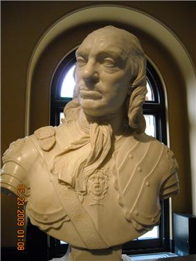Bust of Oliver Cromwell.JPG