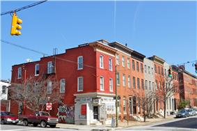 Butchers Hill Historic District
