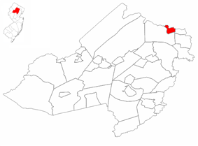 Butler highlighted in Morris County. Inset map: Morris County highlighted in the State of New Jersey.
