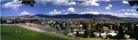 Butte viewed from the campus of Montana Tech