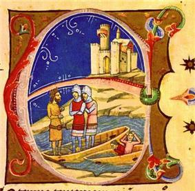 Zotmund sinks the imperial navy at Pressburg