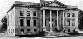 Bynum Gymnasium, ca. 1905