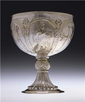 Byzantine - Chalice with Apostles Venerating the Cross - Walters 57636 - Profile.jpg