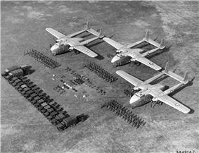 C-82s and cargo