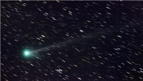 Comet C/2009 R1 McNaught, image taken from Slovenia, Europe on June 9, 2010