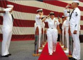 CAPT Cynthia Feller, Nurse Corps, USN