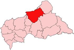 Bamingui-Bangoran, prefecture of Central African Republic