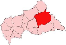 Haute-Kotto, prefecture of Central African Republic