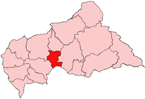 Kémo, prefecture of Central African Republic