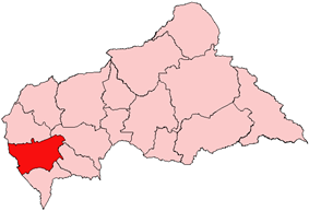Mambéré-Kadéi, prefecture of Central African Republic