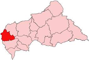Nana-Mambéré, prefecture of Central African Republic