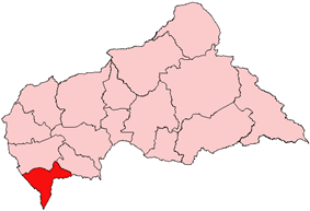 Sangha-Mbaéré, prefecture of Central African Republic