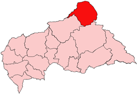Vakaga, prefecture of Central African Republic