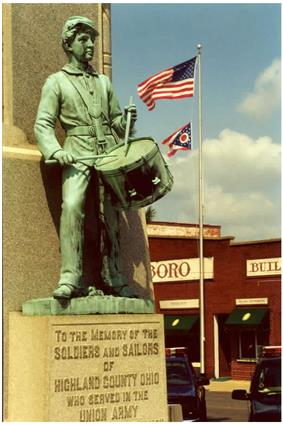 Monument in Hillsboro