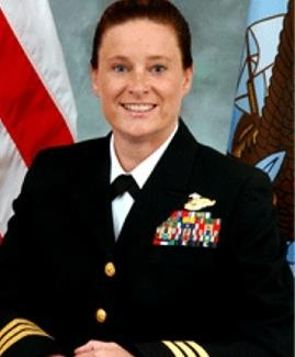 CDR Maureen Pennington, Nurse Corps, USN