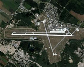 Aerial of CFB Bagotville