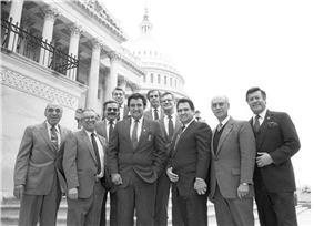 Caucus members in 1984