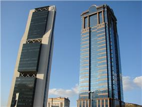 CNCI and CA Towers.