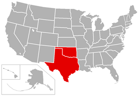 Central States Football League locations