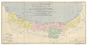 Location of Trebizond Vilayet