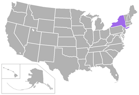 City University of New York Athletic Conference locations