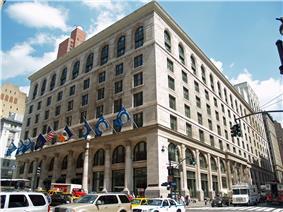 The Graduate Center's main building.