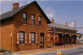 Cumberland Valley Railroad Station and Station Master's House