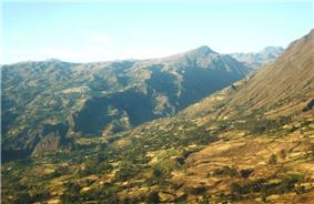 Cabana as seen from Tauca District