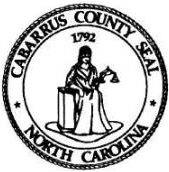 Seal of Cabarrus County, North Carolina