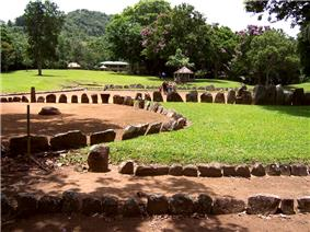 Taíno ball courts at Caguana Site