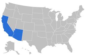 California Pacific Conference locations