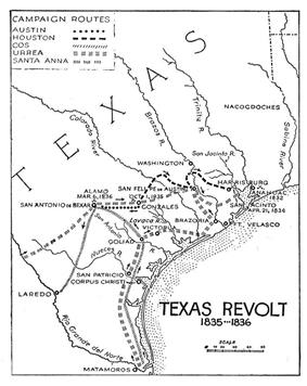 Campaigns of the Texas Revolution