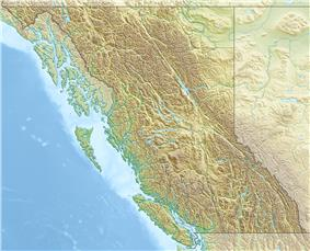 Mount Ratz is located in British Columbia