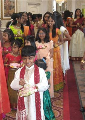 Tamil children from Toronto