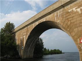Canal Lake Concrete Arch Bridge NHS, Bolsover, ON