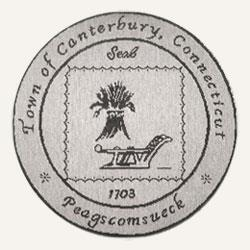 Official seal of Canterbury, Connecticut