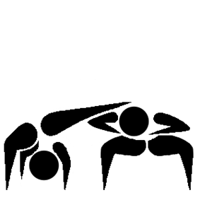 Capoeira pictogram