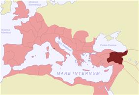 Location of Cappadocia