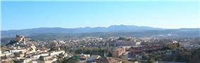 Panorama of Caravaca