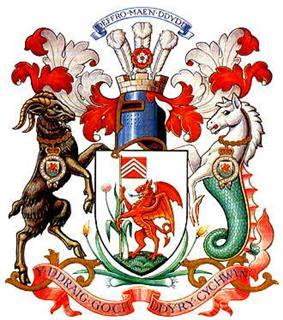 Official logo of Cardiff,United Kingdom