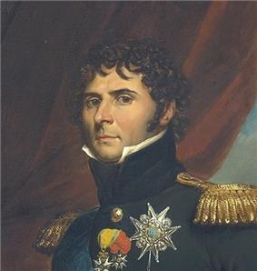 Portrait of Jean-Baptist Bernadotte in Swedish uniform