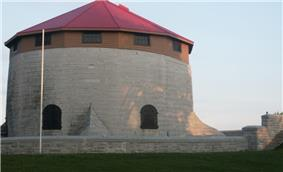 Exterior view of Murney Tower