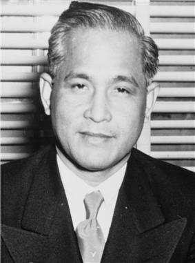 Carlos P. Garcia, eighth President of the Philippines