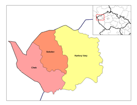 Districts of Karlovy Vary