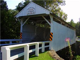 Carmichaels Covered Bridge