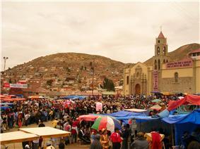 Santuario de la Virgen del Socavón, Carnaval de Oruro, 2007