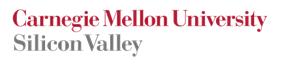 Carnegie Mellon Silicon Valley Title Logo
