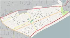 Street map of Carrasco